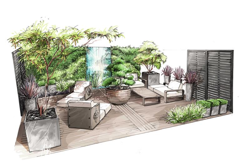 2015 salon jardin jardin perspectiviste for Jardins jardin 2015